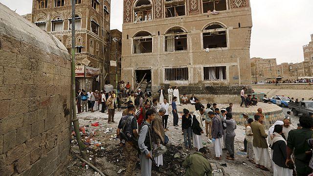 Взрыв у мечети в Сане
