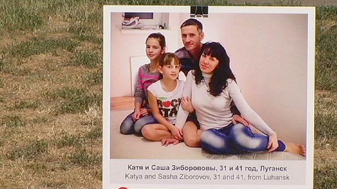 Jótékonysági vásár a Menekültek Világnapján Ukrajnában