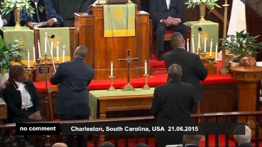 Cérémonie commémorative à Charleston