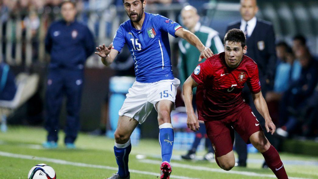Euro2015 sub-21: Portugal empata (0-0) com Itália e adia apuramento