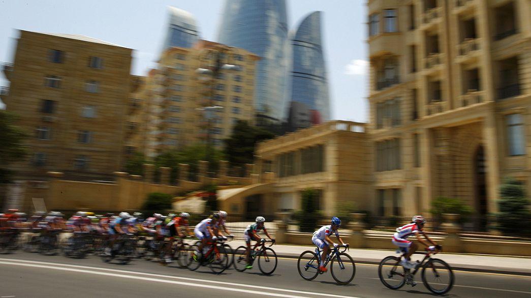Gold für Luis Leon Sanchez in Baku