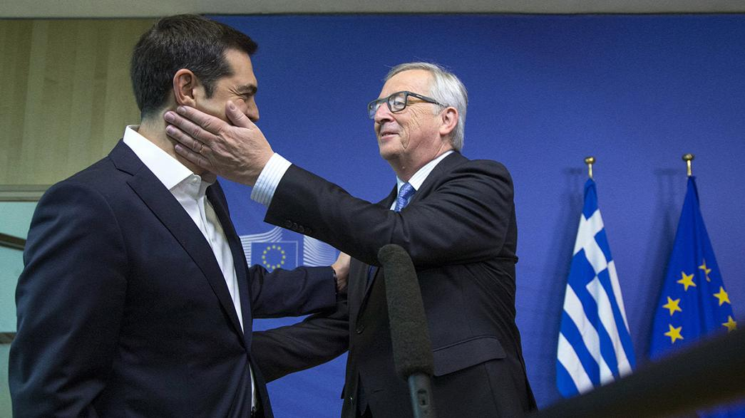 Greek PM faces day of crucial bailout talks in Brussels