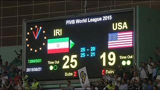 Volleyball : l'Iran vainqueur face aux Etats-Unis
