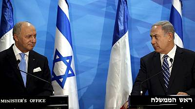 Israeli PM rejects international 'diktats' on Palestinian-Israeli conflict