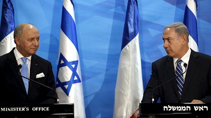 Izrael nem kér a franciák béketervéből