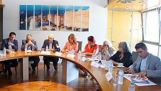 «Ο πολιτισμός γέφυρα Ελλάδας και Ε.Ε» - Αντιπροσωπεία ευρωβουλευτών στην Αμφίπολη