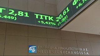 Les marchés boursiers sont optimistes lundi sur la dette grecque