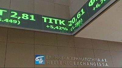 Grecia, mercati euforici in vita del vertice a Bruxelles