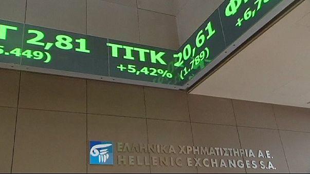أسهم أوربا ترتفع بفضل آمال بشأن اليونان واستحواذ محتمل بقطاع الاتصالات