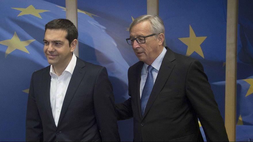 ÉLŐ: az eurózóna-csúcstalálkozó sajtótájékoztatója Görögországról