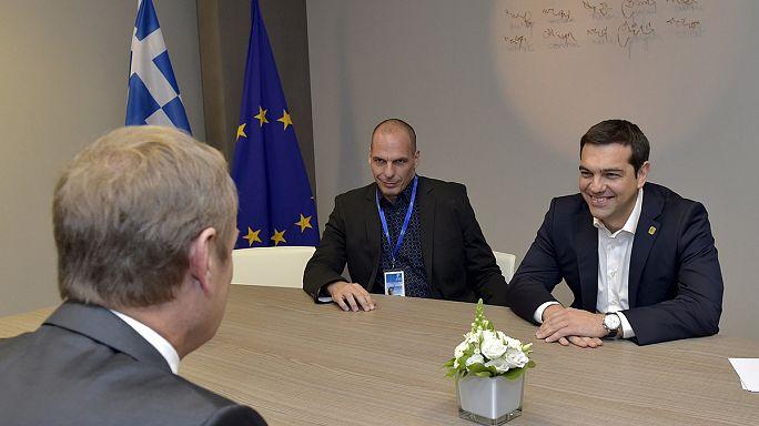 Brüksel'de yoğun Yunanistan mesaisi