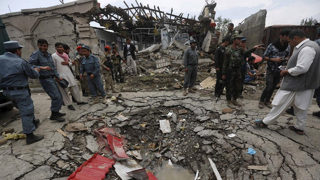 Tote und Verletzte bei Angriff auf Parlament in Kabul