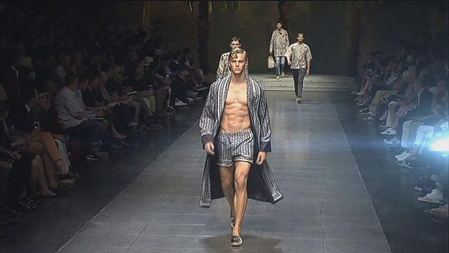 Milano'da erkek modası