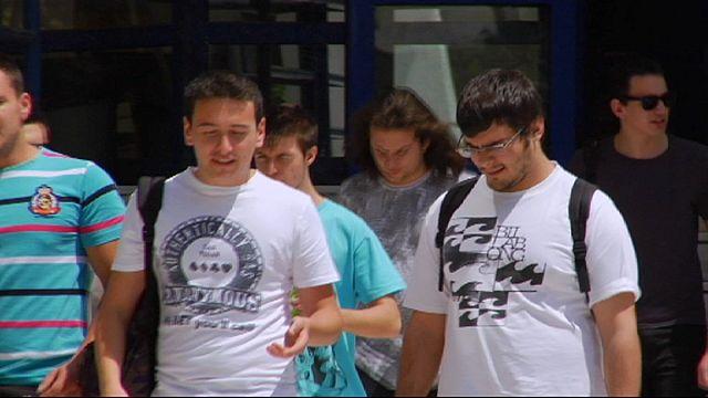 Le malaise des étudiants grecs du Pirée