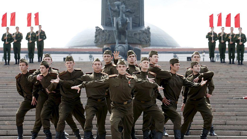 Rusia celebra el 74 aniversario de la invasión nazi durante la II Guerra Mundial