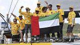 ابوظبي ريسنغ يتوج بسباق فولفو للمحيطات للزوارق الشراعية
