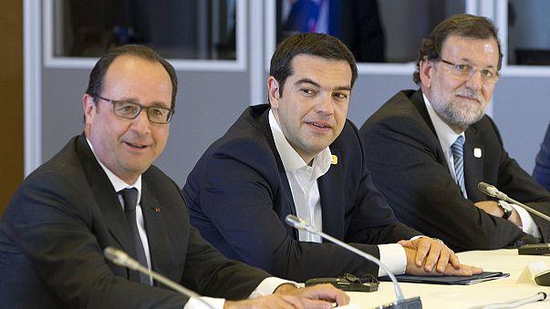 أجواء ايجابية ترافق انعقاد قمة قادة دول مجموعة اليورو و هي قمة مخصصة لدراسة الوضع المالي اليوناني.
