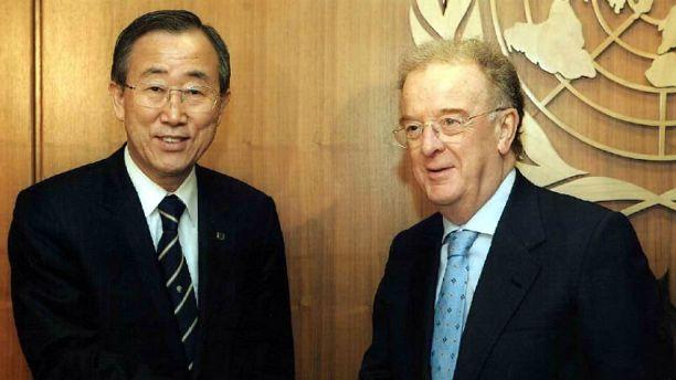 Jorge Sampaio agraciado pela ONU com o primeiro prémio Mandela
