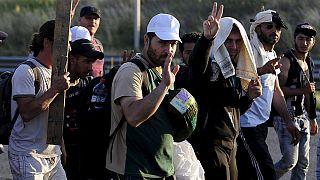 Retour de certains réfugiés syriens après la réouverture de la frontière turque