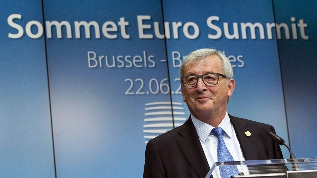 Juncker espera un acuerdo con Grecia próximamente