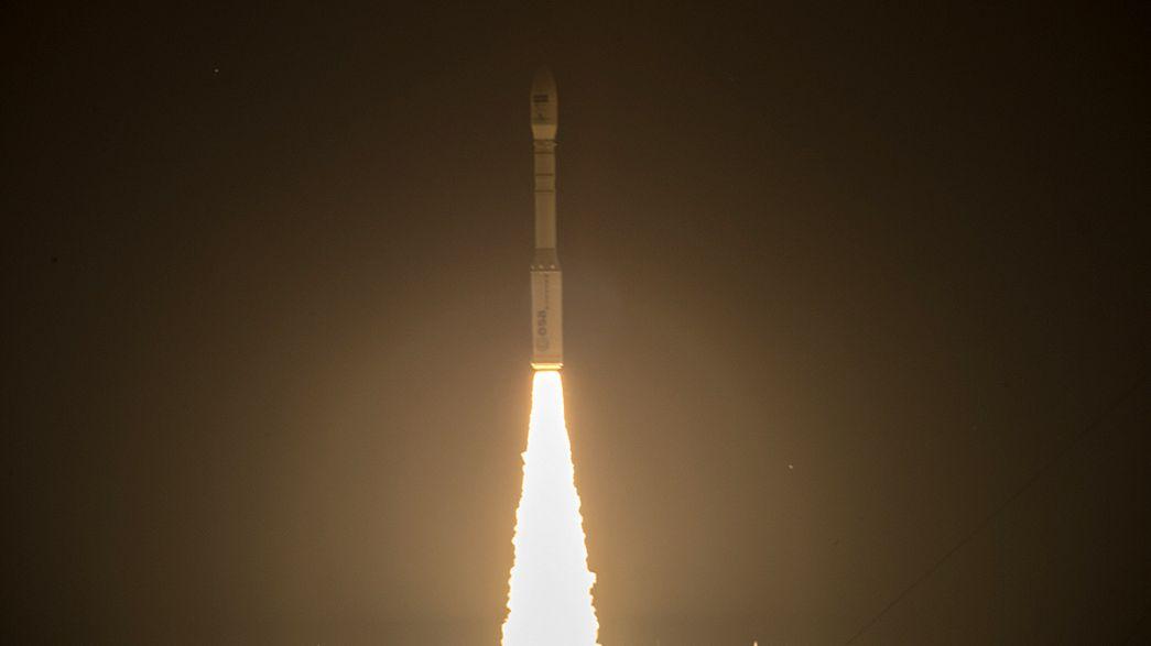 Europa coloca em órbita o segundo satélite da rede Copérnico
