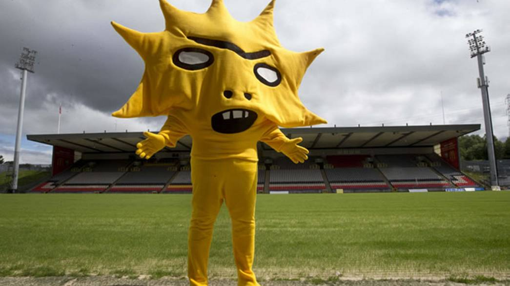 """Partick Thistle FC's new mascot described as """"terrifying"""""""
