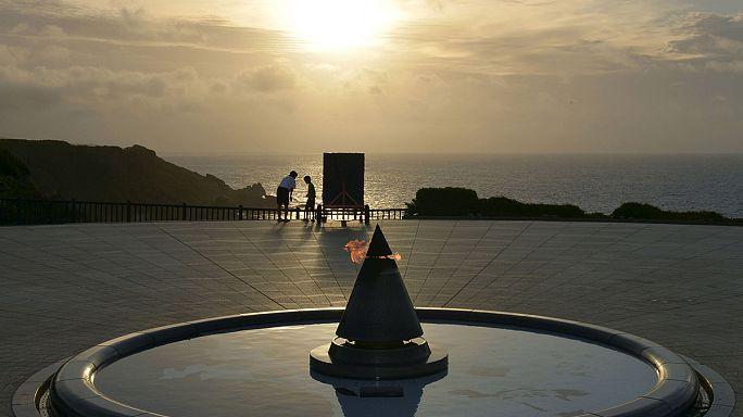 Japon : commémoration et tension à Okinawa