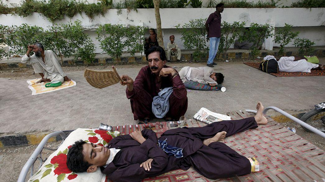 Mais de 400 mortos pelo calor em Karachi