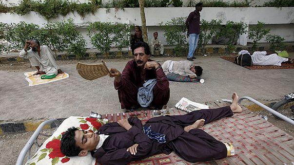 Több százan meghaltak Pakisztánban az óriási hőség miatt