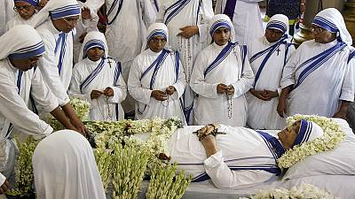 India mourns the death of Mother Teresa's successor, Sister Nirmala Joshi