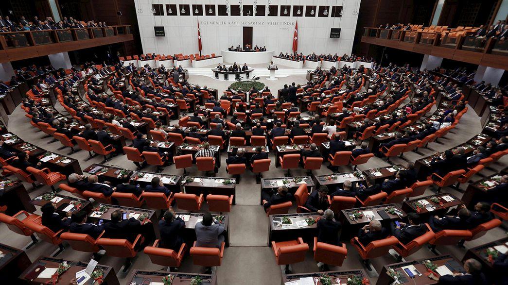 A kurdbarát párt is részt vett a török parlament alakuló ülésén