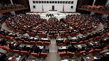 Turkey: first hung parliament since 2002 sworn in