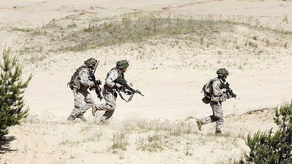USA verlegen schweres Militärgerät nach Osteuropa
