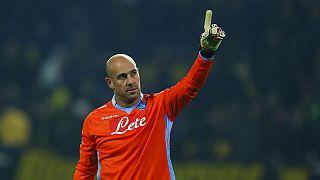 Goalkeeper Reina returns to Napoli