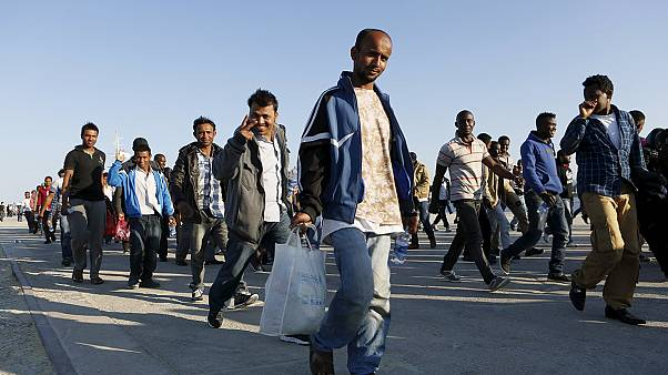 نجات بیش از سه هزار و هفتصد مهاجر سرگردان در دریای مدیترانه طی دو روز