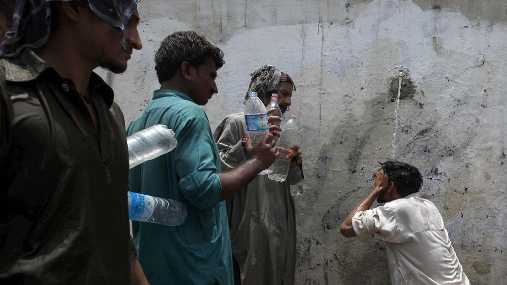 Canicule meurtrière au Pakistan
