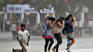 Très forte mousson en Inde