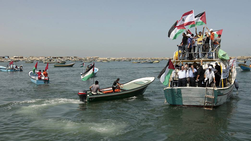 Deputado árabe israelita na flotilha para romper bloqueio a Gaza