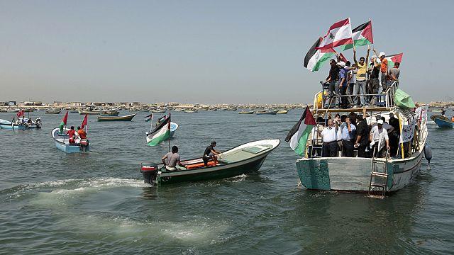 «Флотилия свободы» задерживается из-за погоды