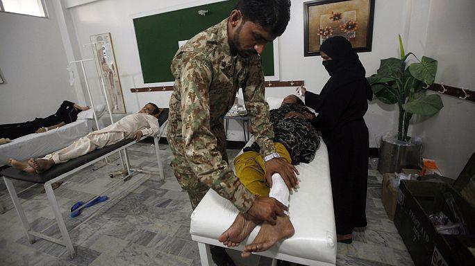Жертвы жары в Пакистане