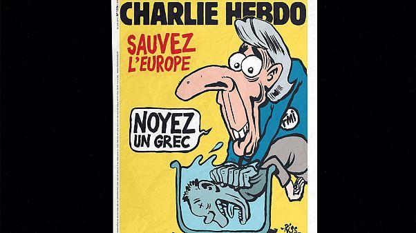 Charlie Hebdo: «Σώστε την Ευρώπη, πνίξτε έναν Έλληνα»
