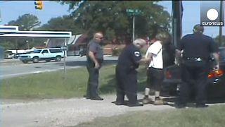 Polizeivideo: Moment der Festnahme von Dylann Roof