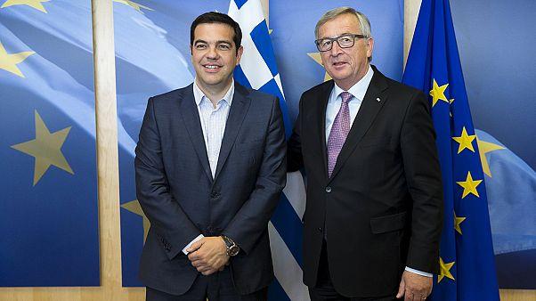 Letzte Chance auf Einigung: Tsipras trifft Gläubiger-Spitzen in Brüssel
