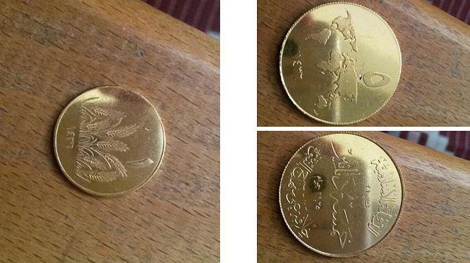 """Premières photos du """"dinar islamique"""", la monnaie de Daesh"""