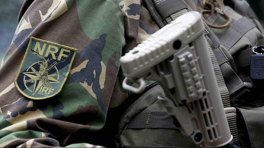 Força de Intervenção Rápida a postos no flanco oriental da NATO