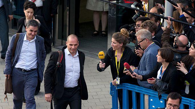 """Reunião do Eurogrupo """"crucial"""" para a Grécia"""