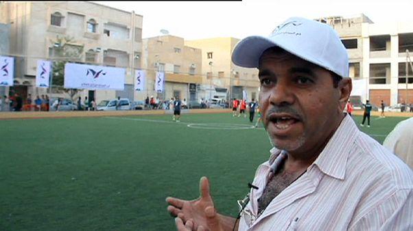 الكرة تعوض الرصاص في ليبيا خلال شهر رمضان