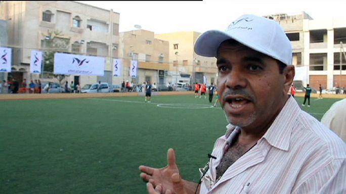 Match pour la paix à Tripoli
