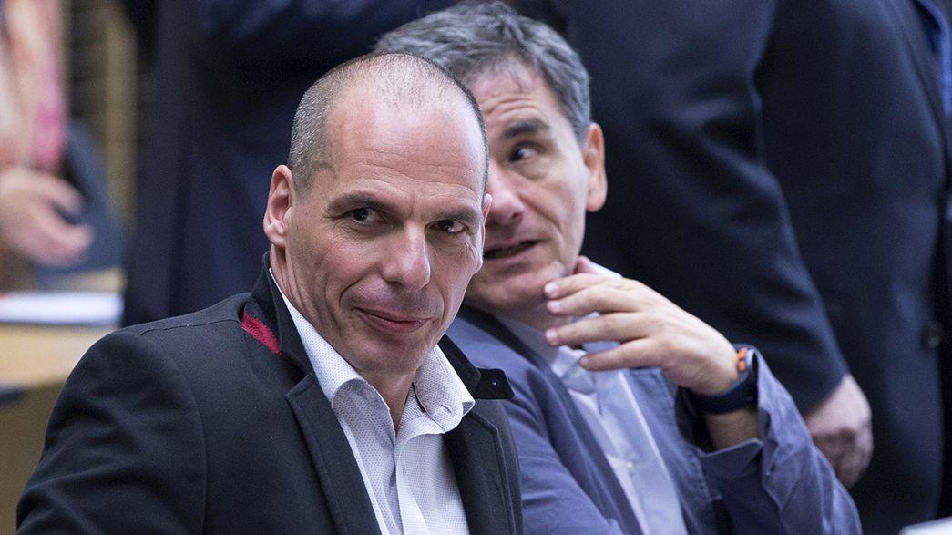 Eurogrupo suspende reunião