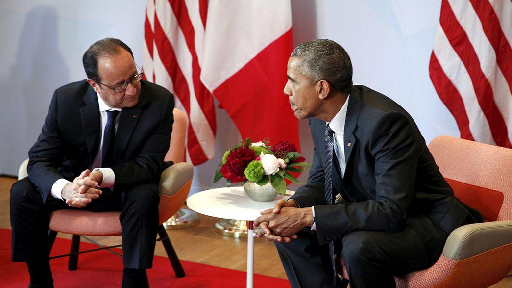 """EUA/França: Escutas a presidentes eram """"ajuda contra o terrorismo"""", diz Casa Branca"""